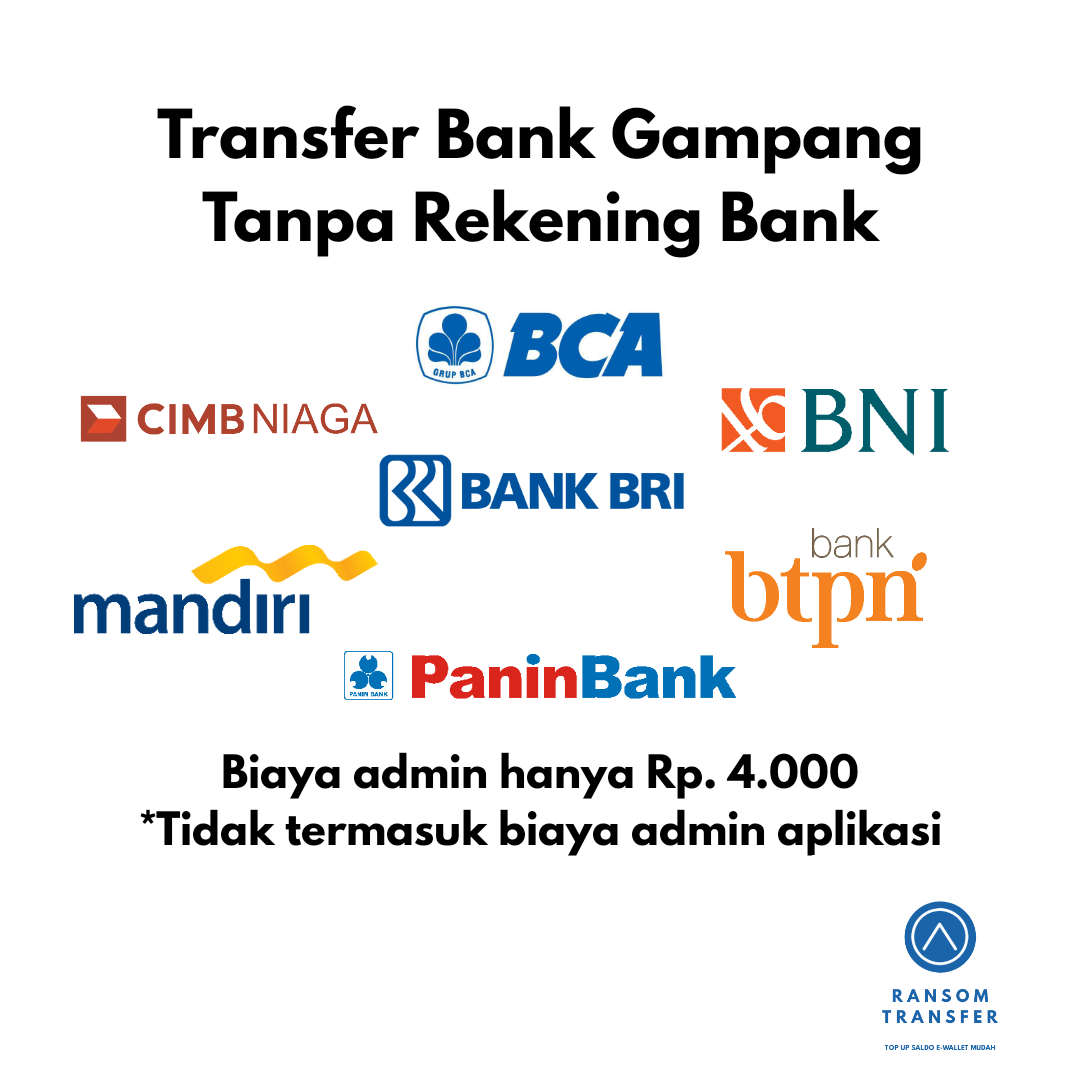 TRANSFER UANG TANPA REKENING BANK