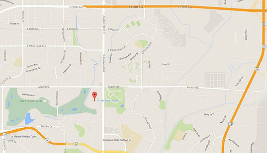 Be Well Counseling Services Colorado Springs map