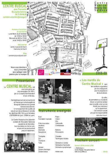 Centre Musical de Bourg les Valence