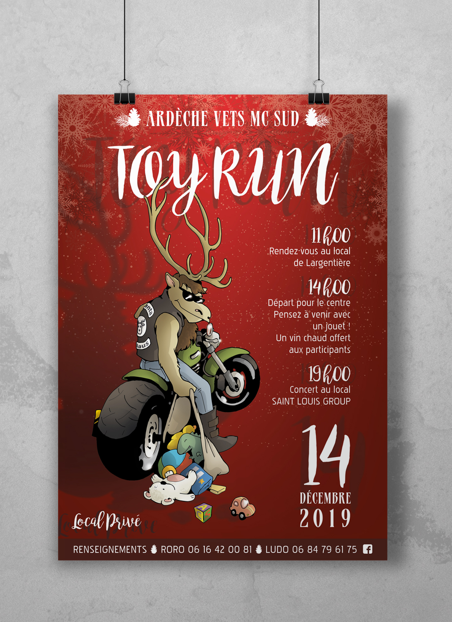 TOY RUN Ardéche Vets 2019