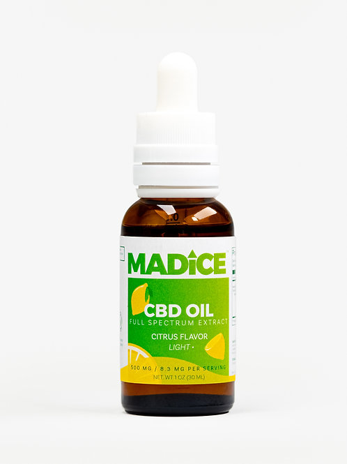 MADICE Oil (Citrus) - 500mg
