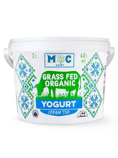 Grass Fed Organic Yogurt 2Kg