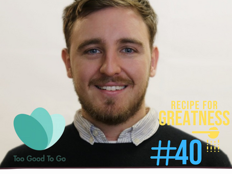 Jamie Crummie - Too Good To Go Co-Founder   Combatting Food Waste By Empowering People