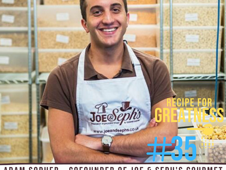 Adam Sopher - Cofounder of Joe & Seph's Gourmet Popcorn   Building A Company On Values