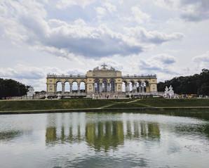 In Schönbrunn Palace Garden
