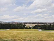 View of Schönbrunn Palace from afar