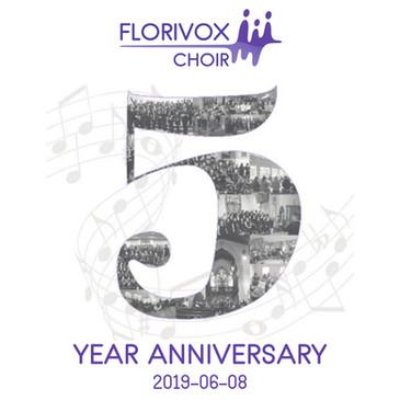 Florivox 5 Year Anniversary
