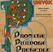 Promise, Purpose, Presence