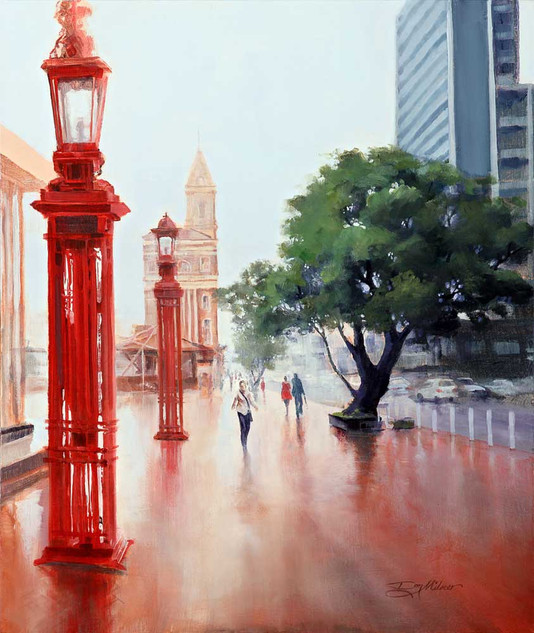 Reflection_Rainy Day-Auckland