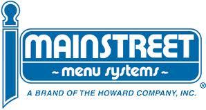 Mainstreet Menu Systems