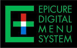 Epicure Digital Menu System