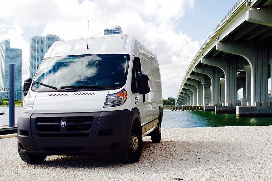 Bridges Van Grip and lighting Miami