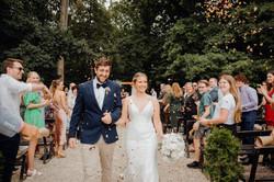 Bangor Farm wedding ceremony