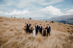 Wanaka bridal party