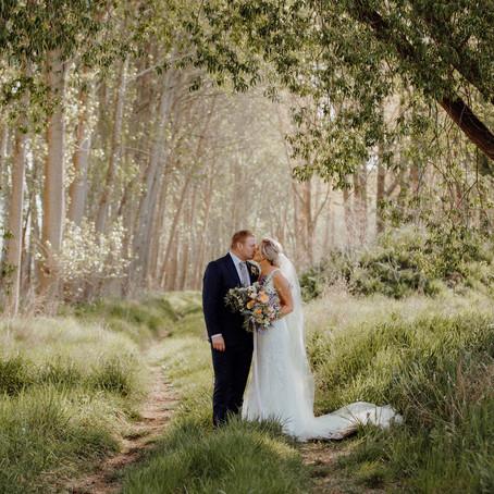 Ingrid & William's Timaru Wedding
