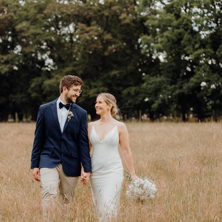 Emma & Blake's Bangor Farm Wedding