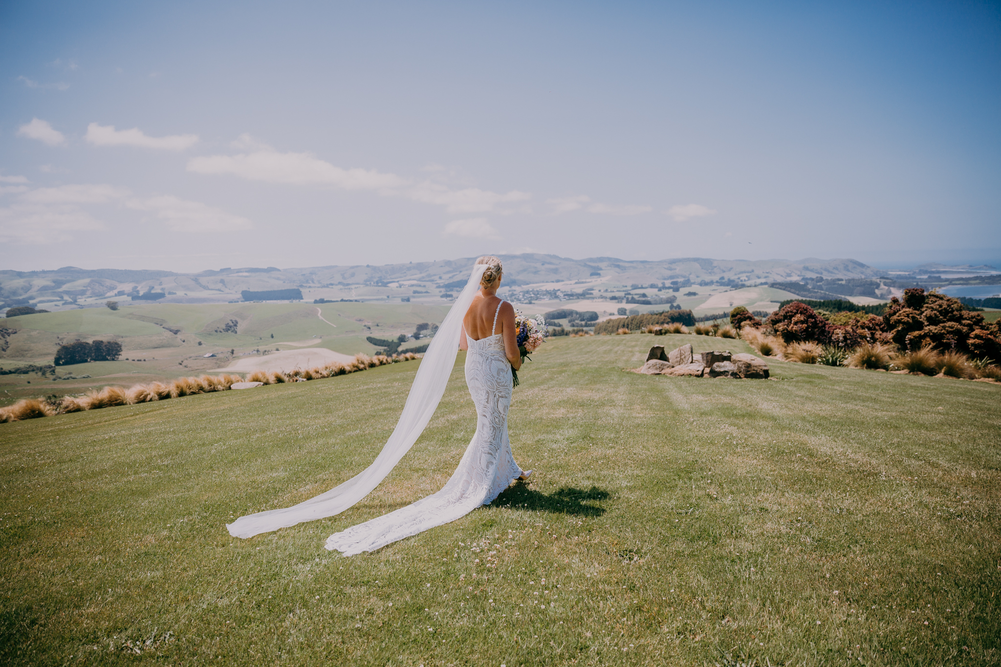 Tiromoana Lodge wedding