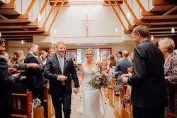 Timaru church wedding