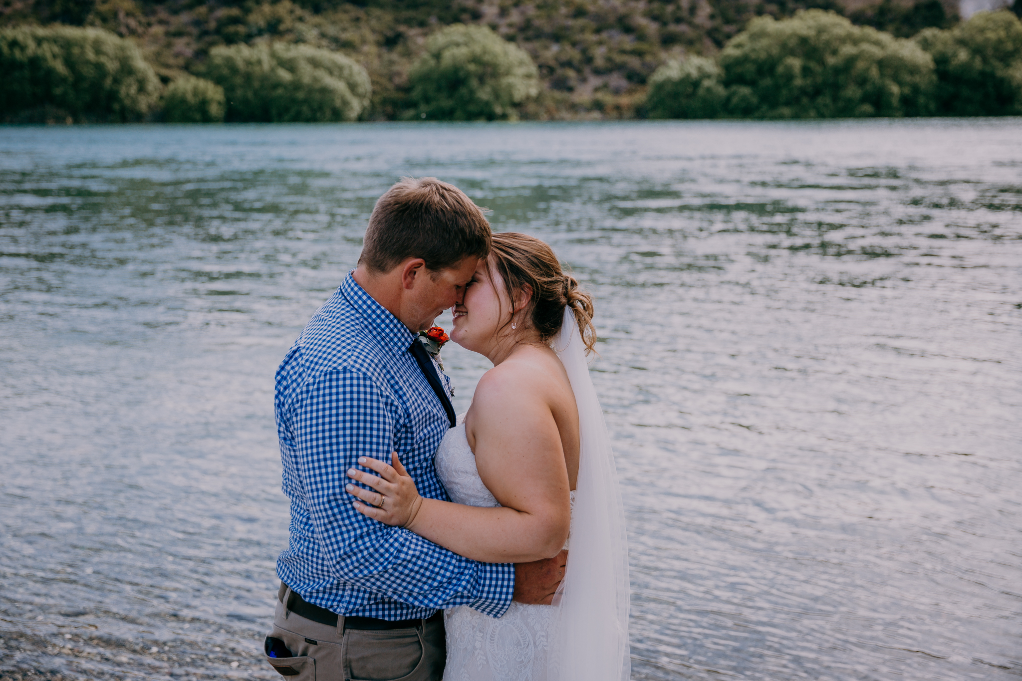 Waitaki Lake wedding