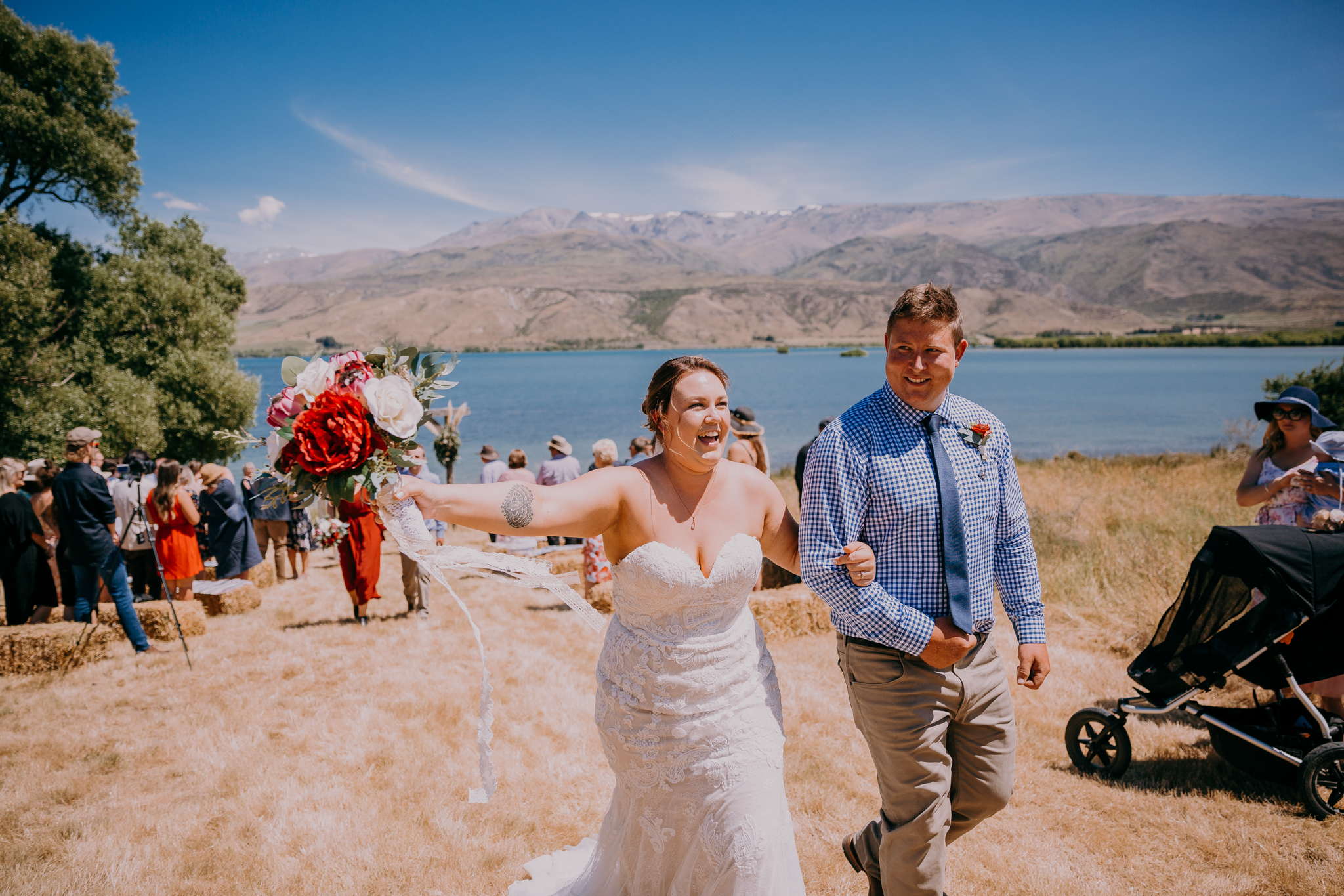 Waitaki Lakes Wedding