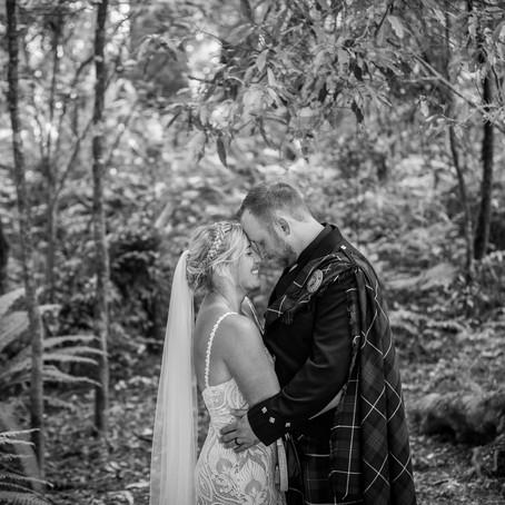 Monica & Ben's Kuramea Lodge wedding | The Catlins