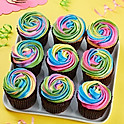 Tie-Dye For Cupcakes