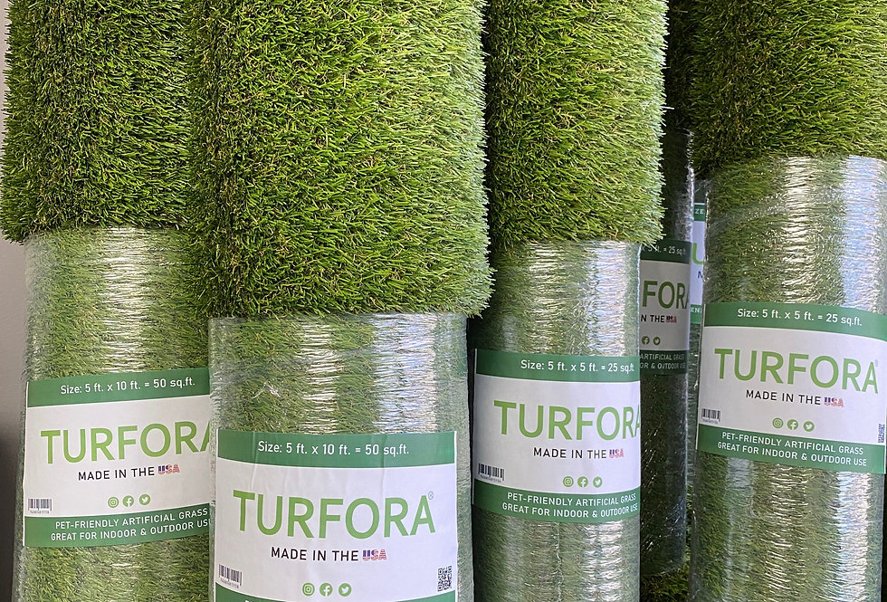 5 ft x 10 ft.= 50 sq.ft. | Pre-cut Turf Roll  |  Artificial Grass