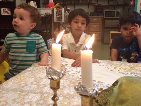 Our First Shabbat