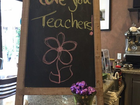 Teachers' Appreciation Week!