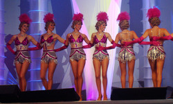 Pink Fantasy Showgirl Dancers