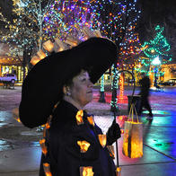 Christmas in Santa Fe, NM