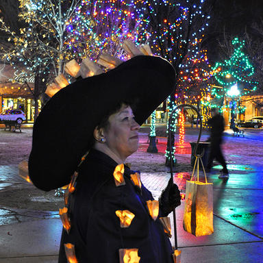 Christmas in Santa Fe, NM