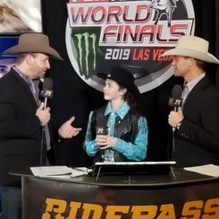 Chevel Shepherd - 2019 PBR World Finals Press Interview
