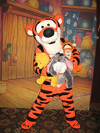 Walt Disney World-Tigger at Epcot Center
