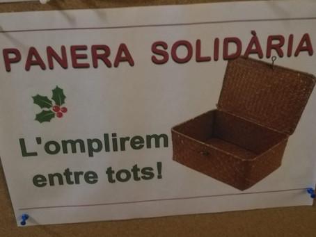 Panera Solidària. Ajudem els més necessitats.