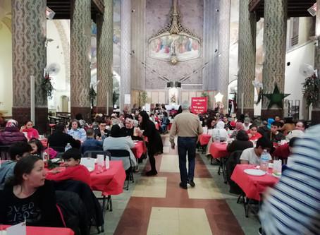 Dinar de Nadal a la parròquia