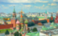 View on Moscow Red Square, Kremlin tower