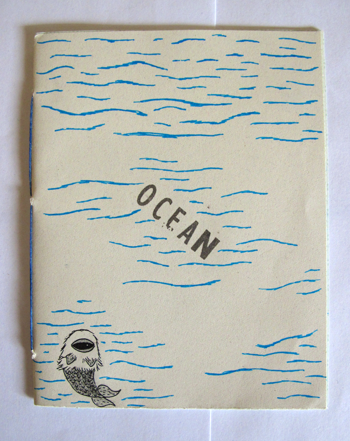Ocean Monster Book
