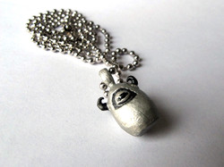 Silver Monster Necklace