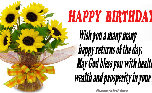 Best wishes and many Happy Returns!!!