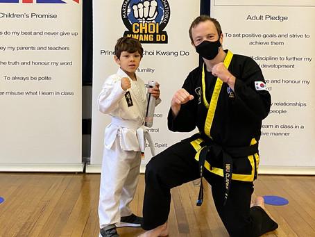 4-6 Years Children's Martial Arts Grading
