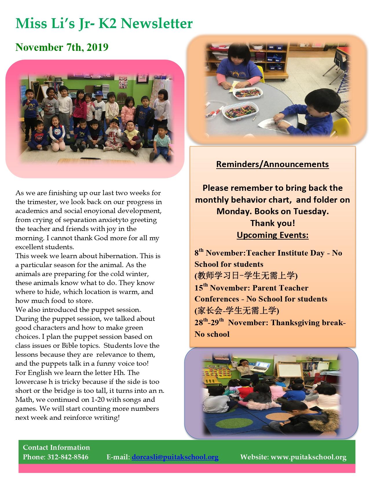 DorcasNewsletter2019November1stWeek_page
