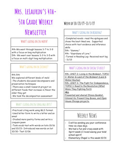 Bethanynewsletter2019October5thweek _pag