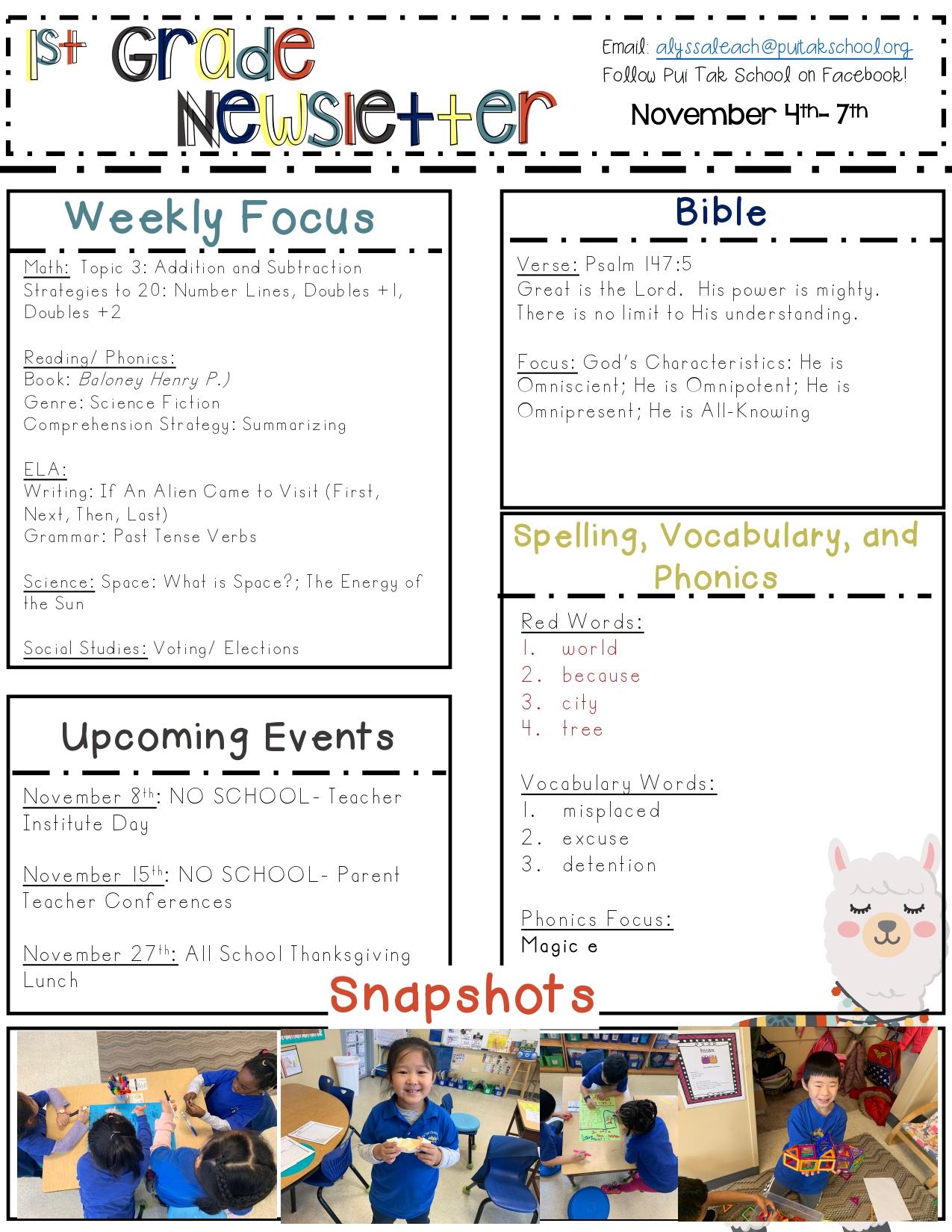 AlyssaNewsletterNovember20191stWeek_page