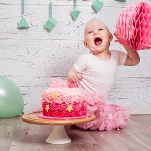 Cakesmash 'Pretty in pink'