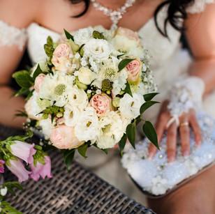 Tropische bruiloft in Midden-Beemster