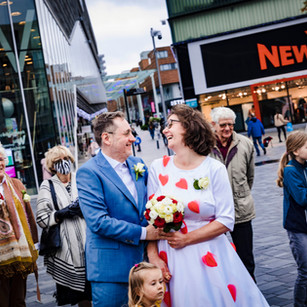 Nelleke en Ernst trouwen in Almere