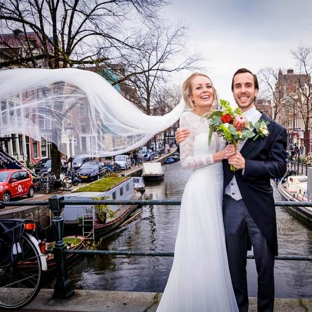 Wencke & Maurice trouwen in Amsterdam