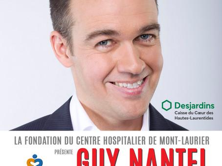 Spectacle de Guy Nantel - Le 26 novembre 2021 - 20 h