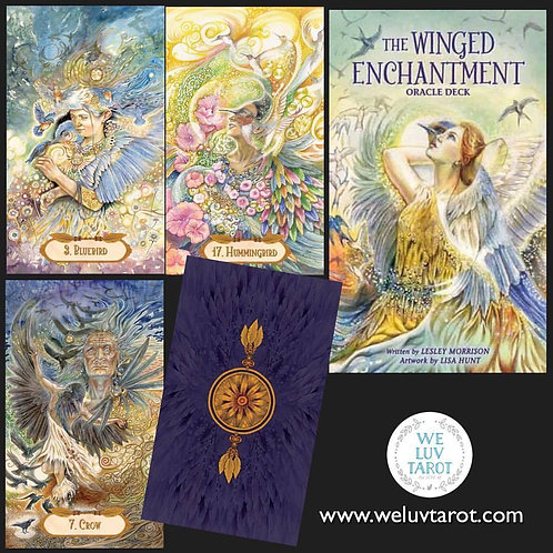 Winged Enchantment Oracle Cards